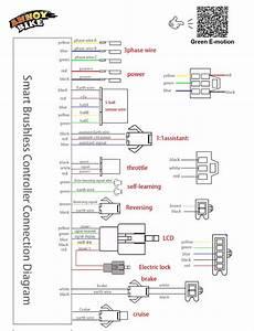 350w 36v  48v Dc 6 Mofset Brushless Controller  Bldc