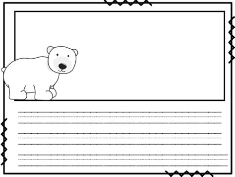 Polar Bear Writing Paper Write My Paper For Me Assignment Free Polar