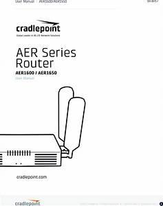 Cradlepoint Aer1600 Manual 5 Cradlepoint Aer1600 Manual 5