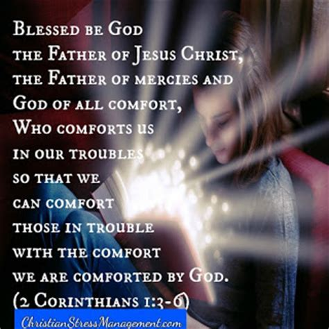 god comforts us christian stress management how to become a well baked