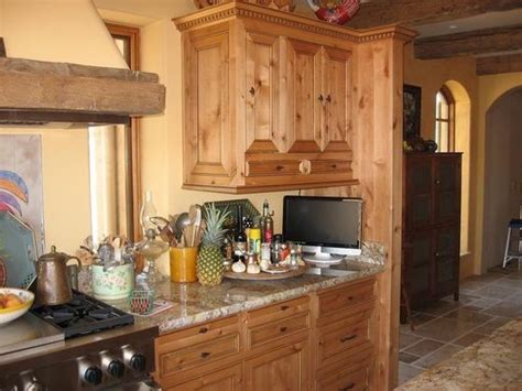 handmade ragsdale  world kitchen cabinets  clean