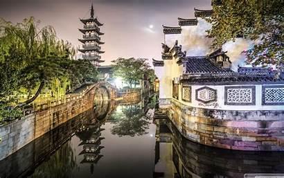 China Wallpapers Ancient Town Nanxiang