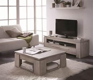 Ensemble Table Basse Meuble TV SEGUR 140cm Achat