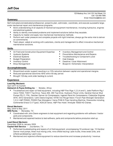best of collection of generic resume template business