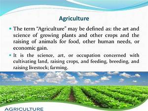 Impacts of agriculture, aquaculture on environment
