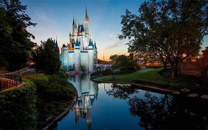 Disney Park 4k Parks Disneyland Desktop Castle