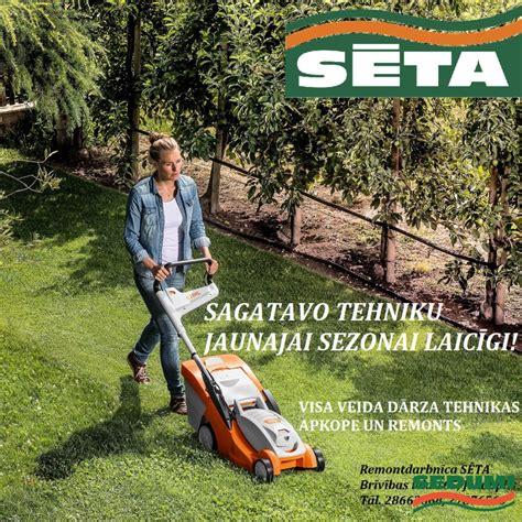 Sagatavo dārza tehniku jaunajai sezonai laicīgi!   Meža un ...