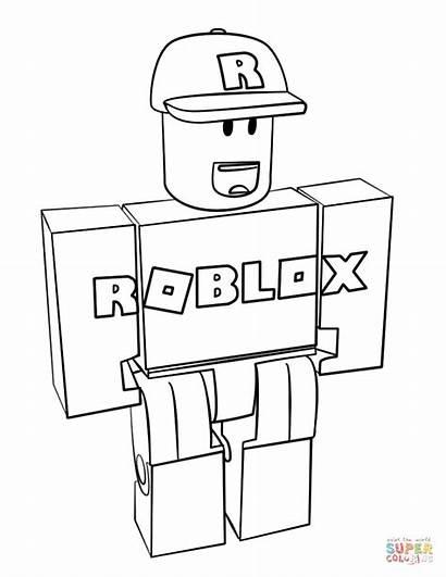Coloring Roblox Printable Guest Colorear Dibujos Minecraft