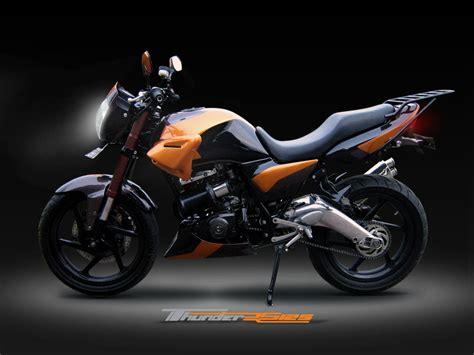 sport car motor cycle and bike modification suzuki thunder 125 cool modification