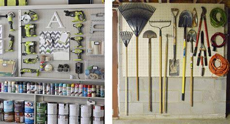 Garage Organization Pegboard by Garage Organization Pegboard For Wall Decorations 14