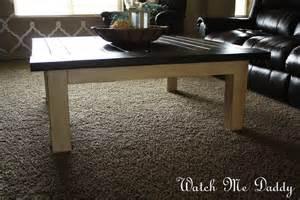 DIY Square Coffee Table Plans