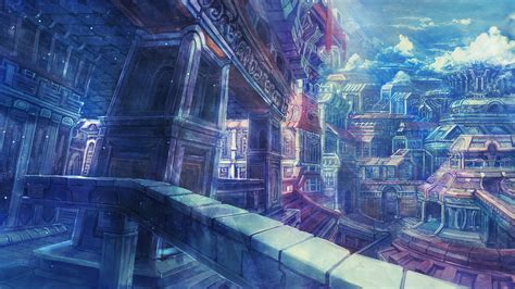 Anime City Scenery Wallpaper - the gallery for gt anime city scenery wallpaper