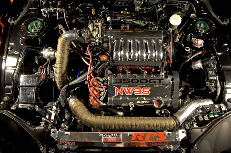 nw3s 3000gt vr4 dragster engine photos