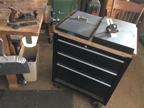 simple sharpening cart finewoodworking