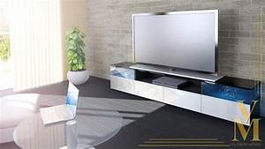 Tv Board Industrial Design : lowboard kommode tv board unterschrank almeria v2 schwarz ~ Michelbontemps.com Haus und Dekorationen