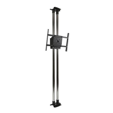 Peerless Ceiling Pole Mount by Peerless Modular Series Dual Pole Floor To Ceiling Kit