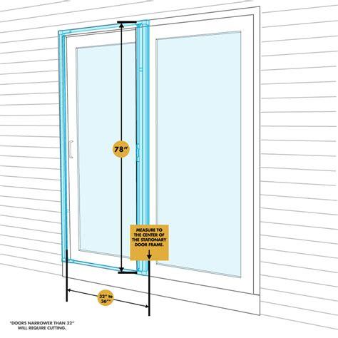 odl retractable screen door odl brisa premium retractable screen for 78 in sliding