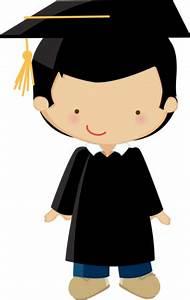 Pequeño graduado. Podría ser perfectamente un alumno ...