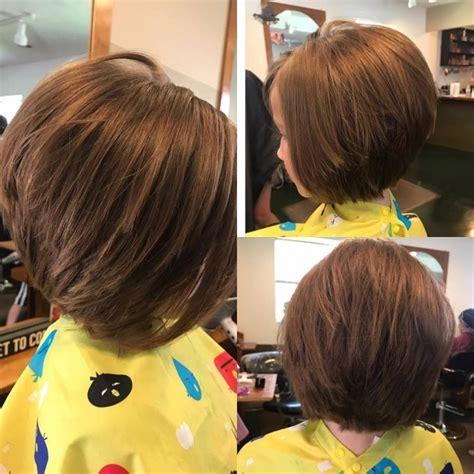 coupes cheveux modernes petite fille  coiffure