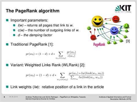 Pagerank Wikipedia Towards General Importance Scores
