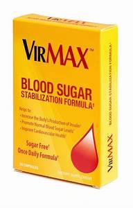 Virmax Blood Sugar Stabilization Formula Tablets  30 Count