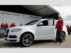 Real Madrid stars treated to brand new Audi's and it's