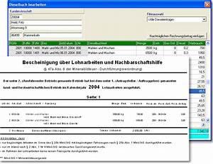Stornierung Rechnung : lukas die lohnunternehmer software zum abrechnen ihrer ~ Themetempest.com Abrechnung