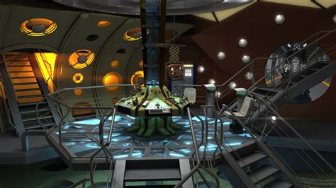 11th Doctor Tardis Interior by 11th Doctor Matt Smith Tardis Interior By Davros The 2nd