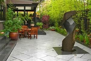 awesome fontaine de jardin en pierre moderne ideas With nice photos de bassins de jardin 1 une fontaine en pierre pour votre jardin leroy merlin