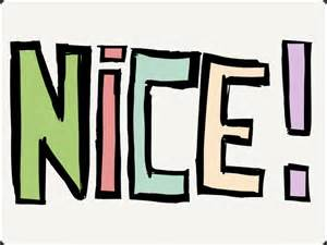 A Small Pic of the Word Nice