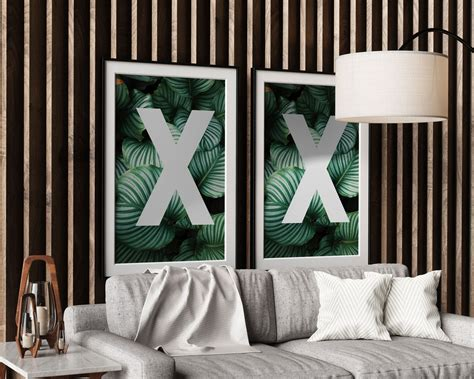 double poster frame mockup templates images vectors