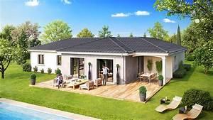 constructeur maison isere demeures caladoises modele et With modele de maison en u