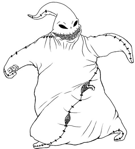 coloring pages jack sally images  pinterest