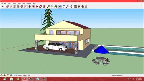 Tutorial Google Sketchup Membuat Rumah Sederhana Full