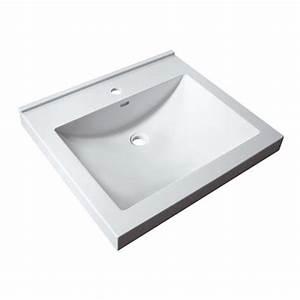 Vasque à Encastrer : vasques vasques encastrer varicor palerme 60 x 54 ~ Edinachiropracticcenter.com Idées de Décoration