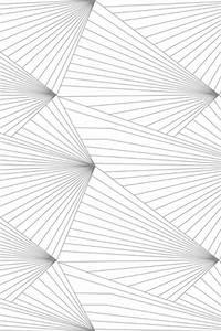 Gray and White Geometric Wallpaper