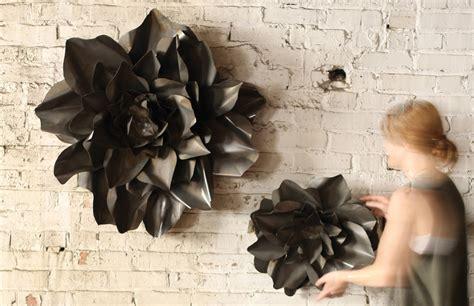 metal flower wall hangings flower sculpture metal