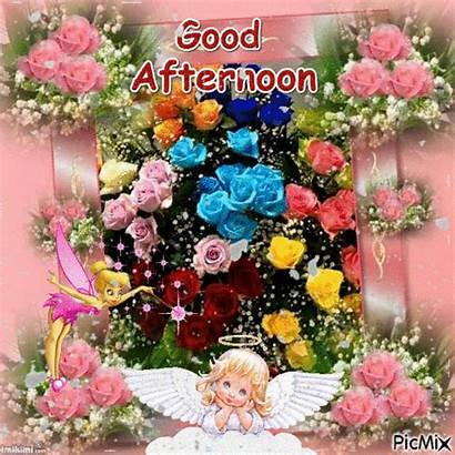 Afternoon Quotes Gifs Greetings Roses Noon Picmix