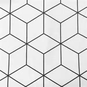 melli mello nobodeco decostof wit zwart blokken patroon stoffen online