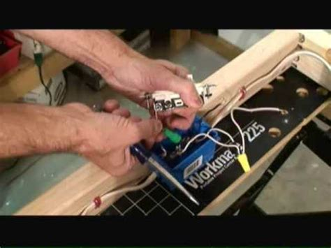 wiring switch outlet combo circuit youtube
