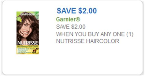 nutrisse hair color coupon garnier nutrisse coupon 2 one garnier nutrisse hair