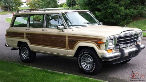 1989 jeep grand wagoneer 1989 jeep grand wagoneer base sport utility 4 door 5 9l