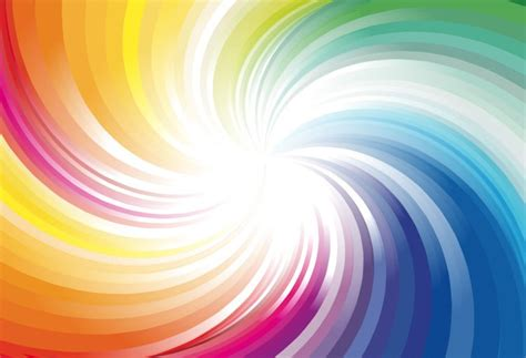 svg background color abstract rainbow colors wave background vector