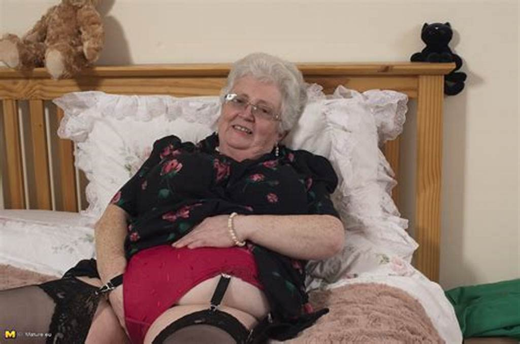 #British #Granny #Playing #With #Her #Voluptous #Body