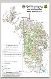 Black Hills National Forest Map