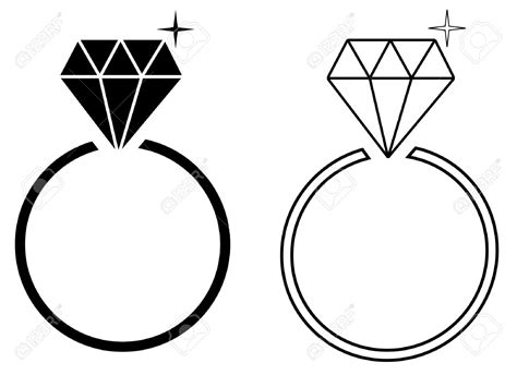 engagement ring vector    clipartmag