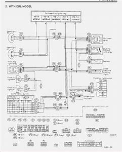 2001 Subaru Radio Wiring Diagram