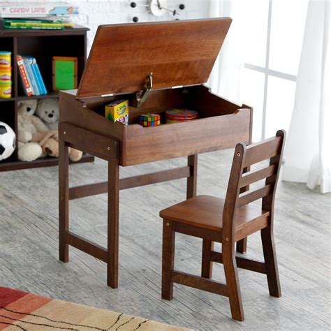 school desk set chair schoolhouse home study childrens
