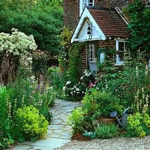 Cottage Garten Anlegen : vorgarten gestalten 33 bilder und gartenideen cottage garten pinterest vorgarten ~ Markanthonyermac.com Haus und Dekorationen