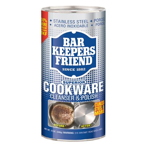 bar keepers friend cookware cleanser polish